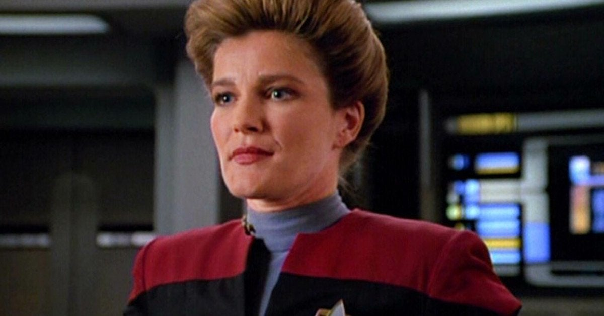 Captian Janeway Kate Mulgrew Star Trek Voyager Prodigy