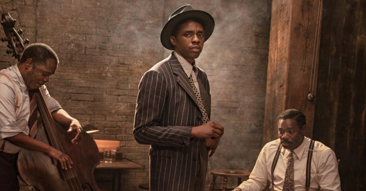 Chadwick Boseman Ma Rainey's Black Bottom Netflix