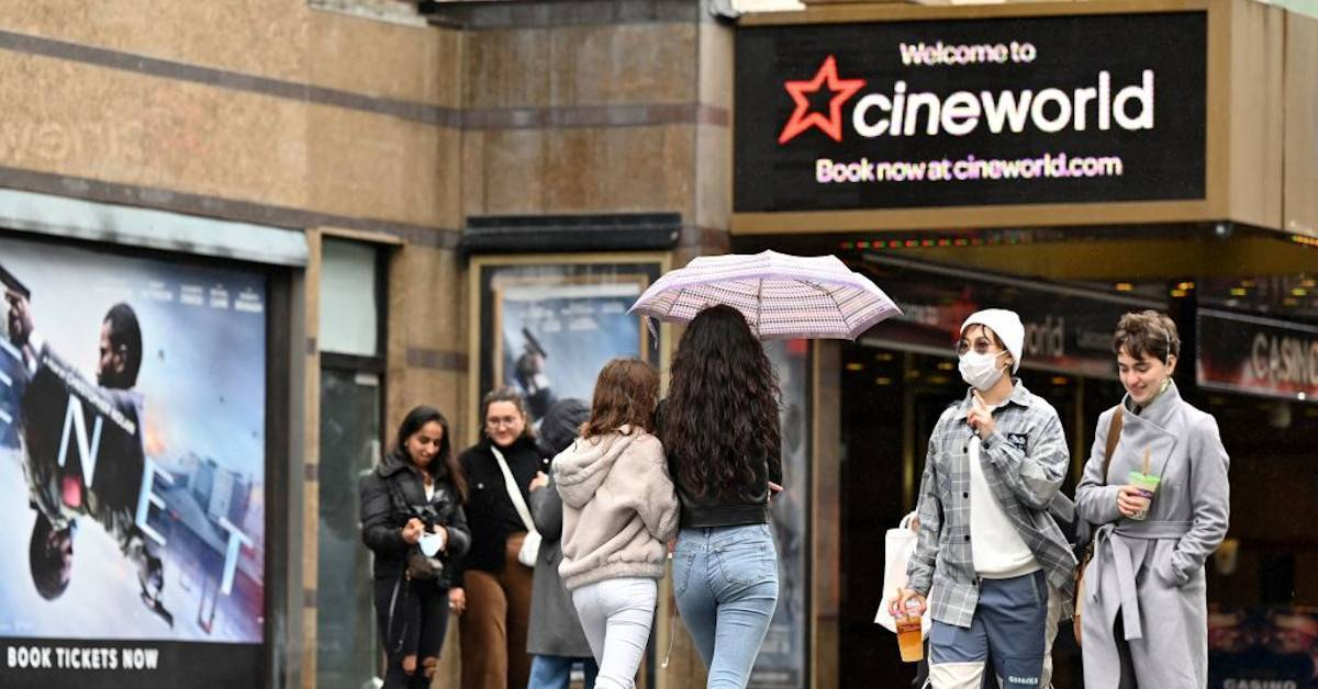 CineWorld Regal Cinemas Closing Theaters Statement