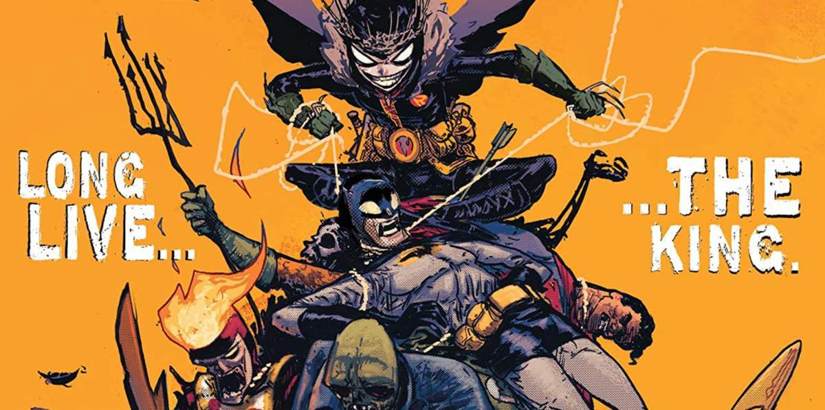 Comic Reviews - Dark Nights Death Metal Robin King #1