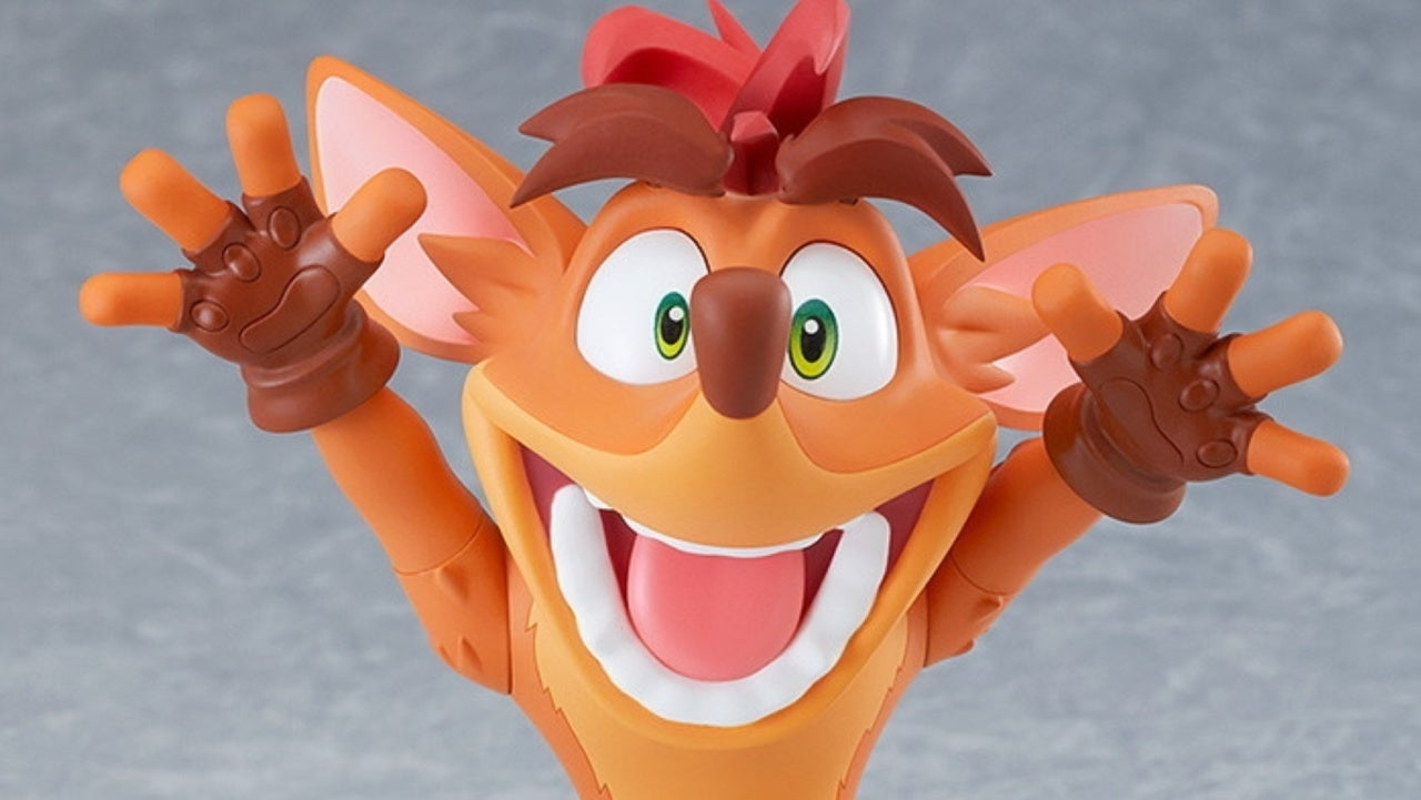 Crash Bandicoot Is Getting His Very Own Nendoroid