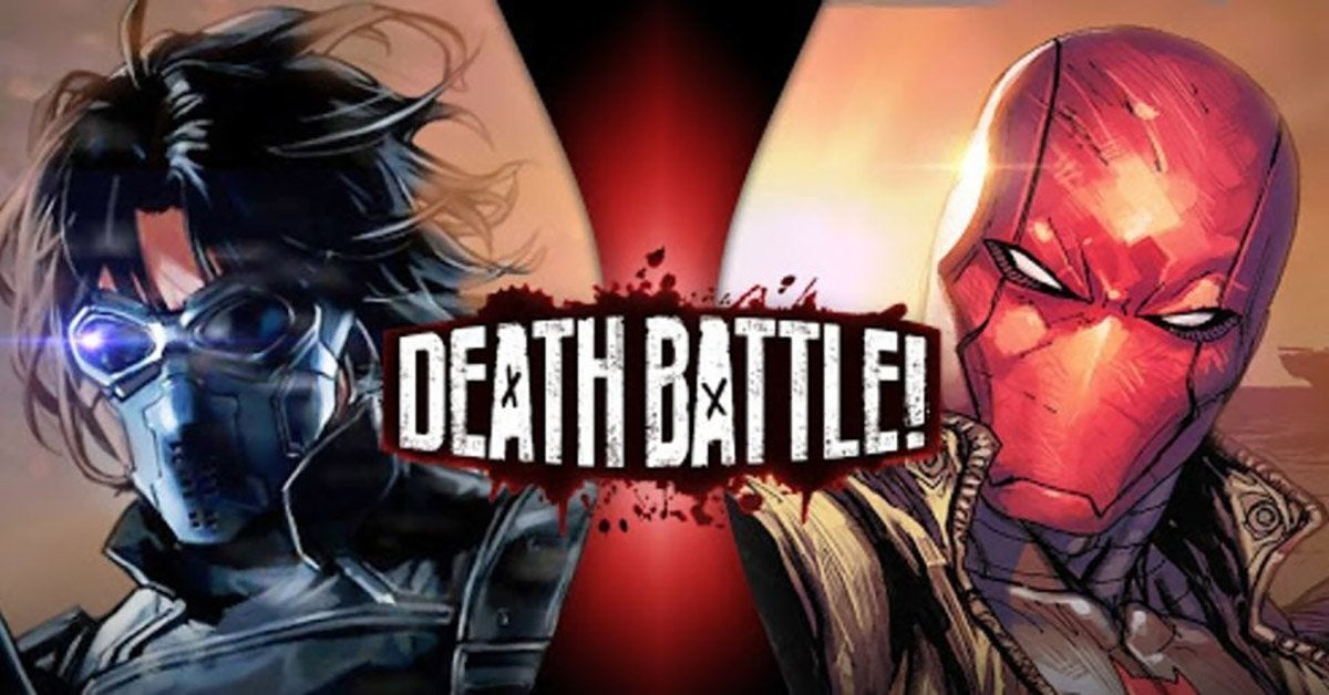 death battle winter soldier and red hood