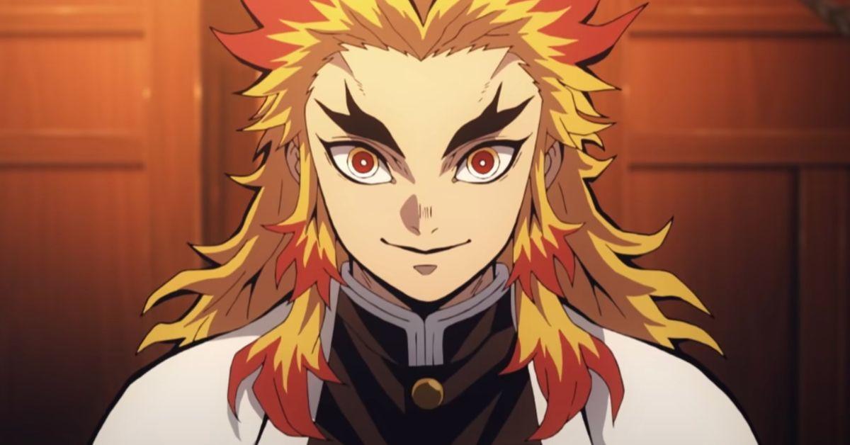 Demon Slayer Kimetsu no Yaiba Movie Mugen Train Kyojuro Rengoku