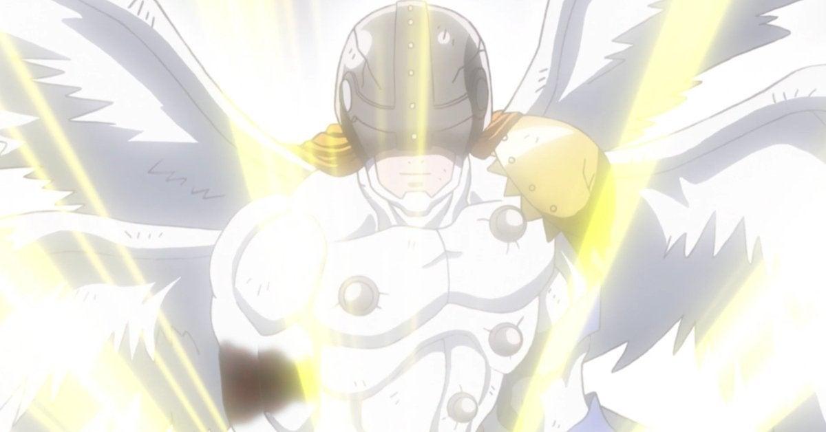 Digimon Adventure Angemon Reboot Debut