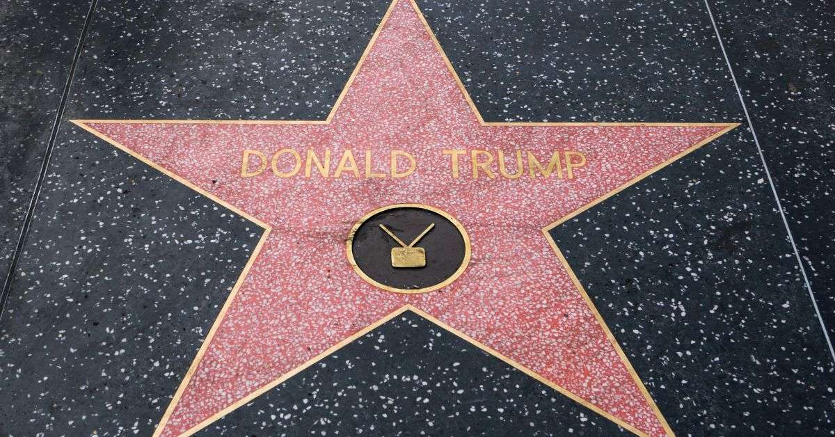 donald trump hollywood walk story