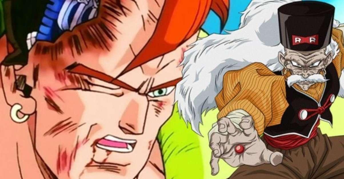 Dragon Ball Android 16 Dr Gero