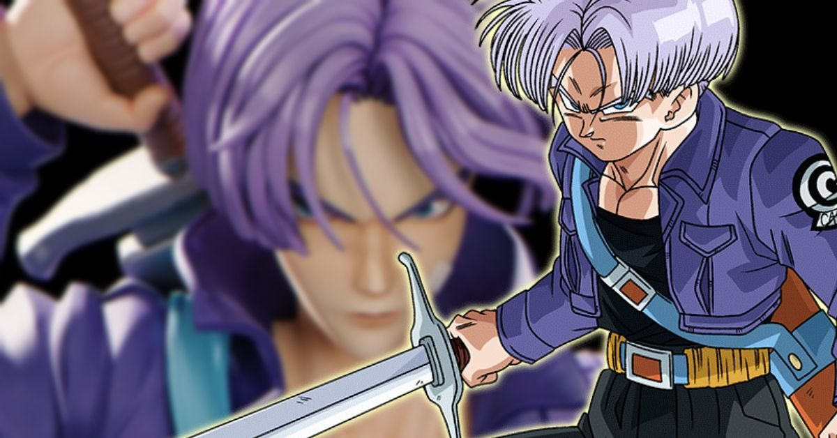 Dragon Ball Future Trunks CG Animation Anime Art