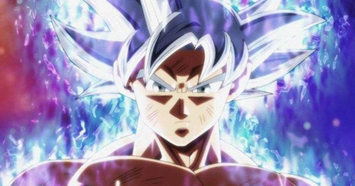 Dragon Ball Super Goku Ultra Instinct Anime
