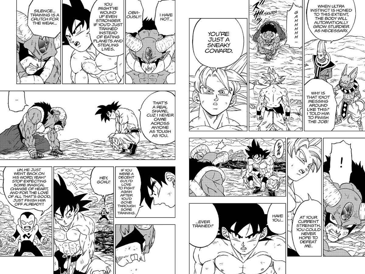 Dragon Ball Super Manga 65 Spoilers Moro Origin Training Explainedd