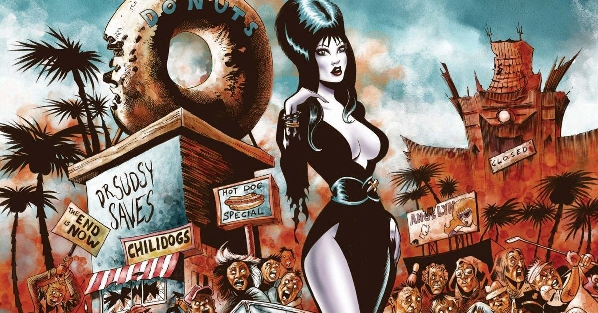 elvira omega ma'am comic book kickstarter header