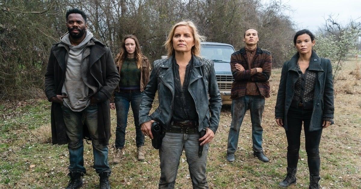 Fear the Walking Dead cast Season 4