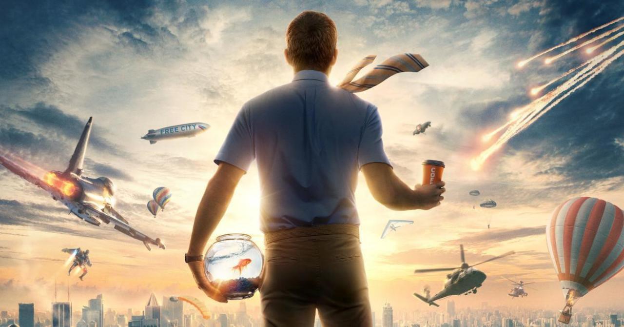 New Ryan Reynolds' Free Guy Poster Released