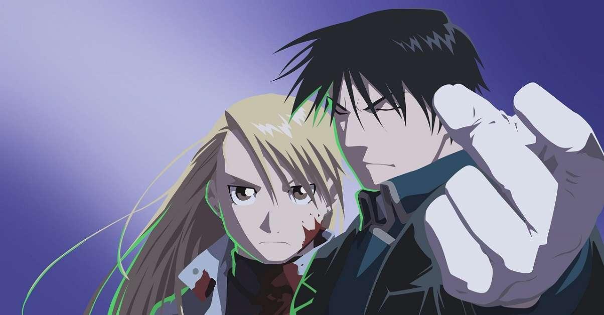 Fullmetal Alchemist Mustand and Hawkeye