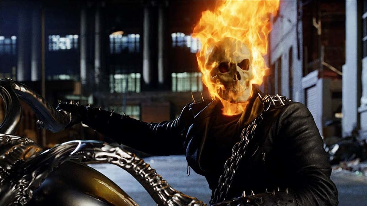 ghost rider nic cage marvel