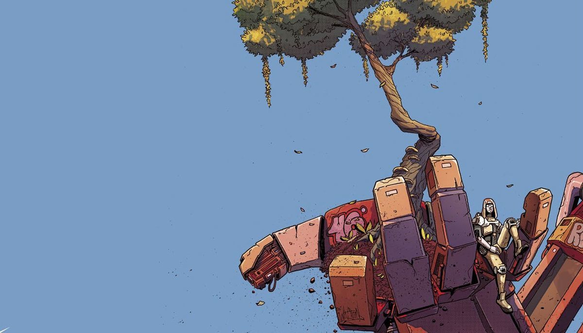 Giga #1 Review - Cover
