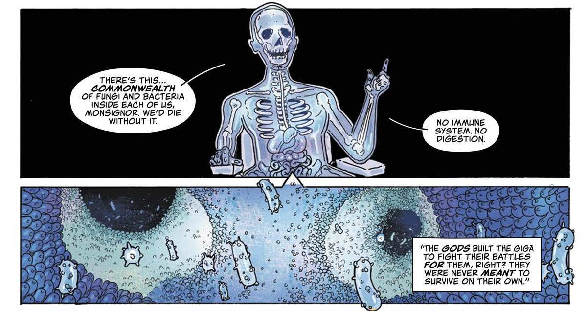 Giga #1 Review - Microbiome