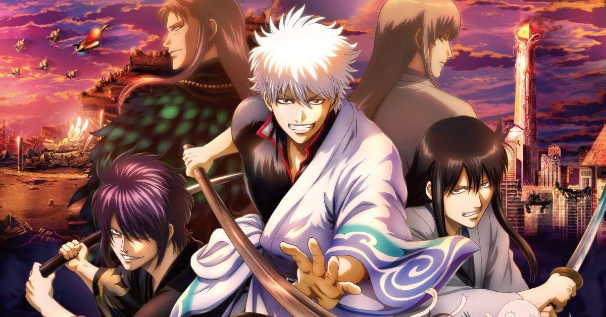 Gintama The Final Movie Anime Poster Key Visual