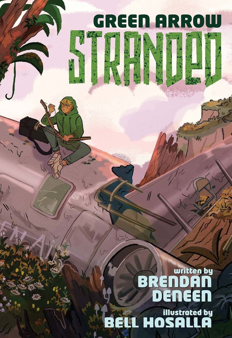 green arrow stranded cover