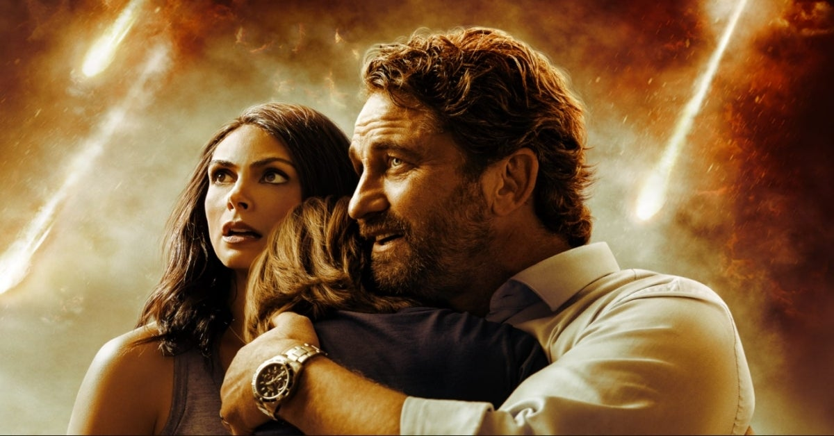 Greenland movie Gerard Butler Morena Baccarin