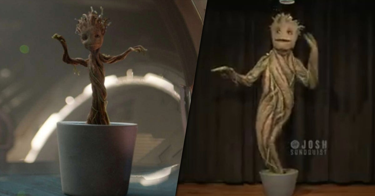 groot costume josh sundquist viral video