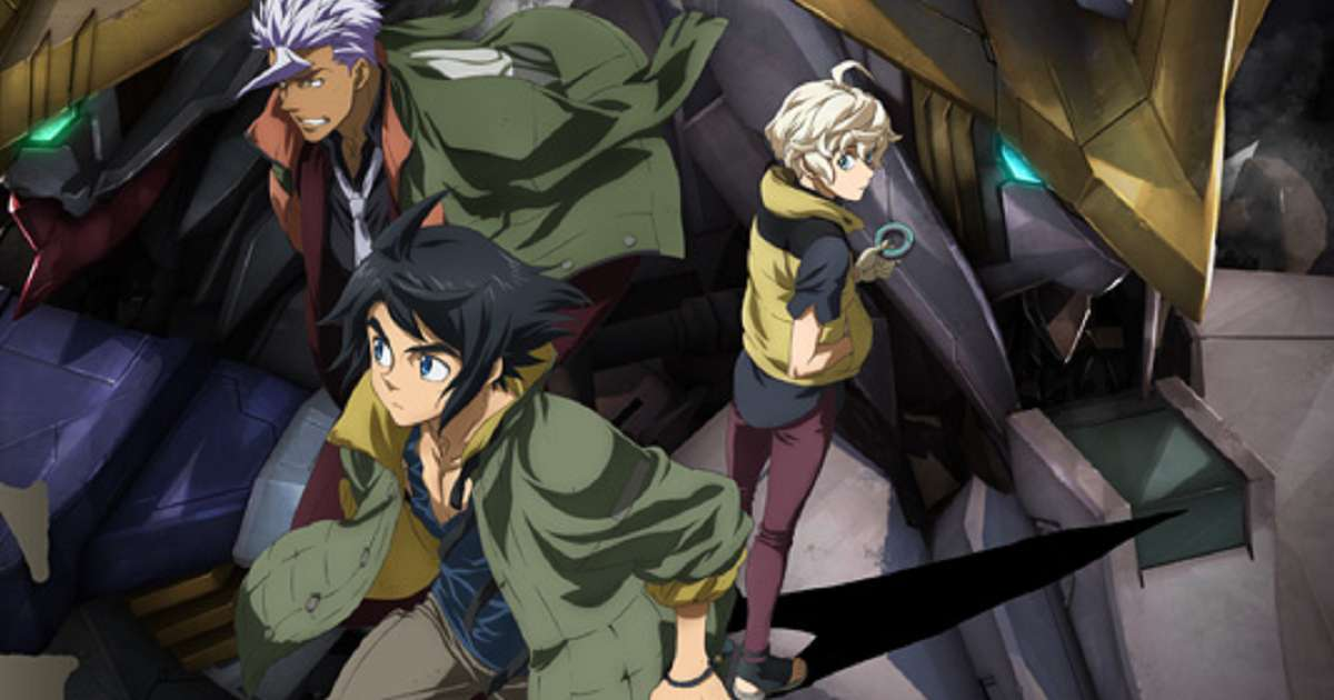 Gundam Iron Blooded Orphans Key Art