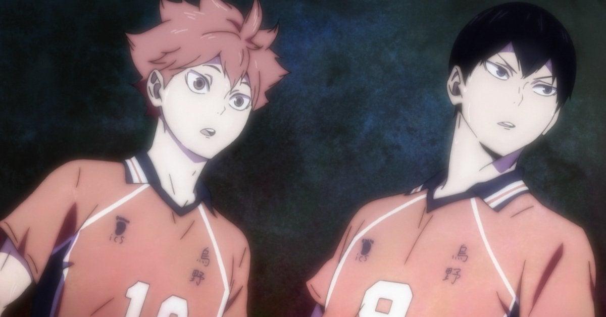 Haikyuu Hinata Kageyama Quick Attack Stolen Miya Twins Season 4 Anime