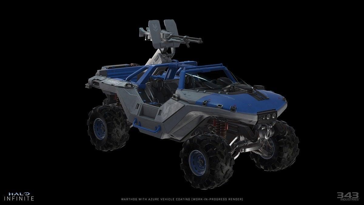 Halo Infinite Warthog Skin