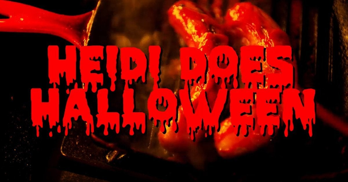 Heidi Klum Halloween Short Film