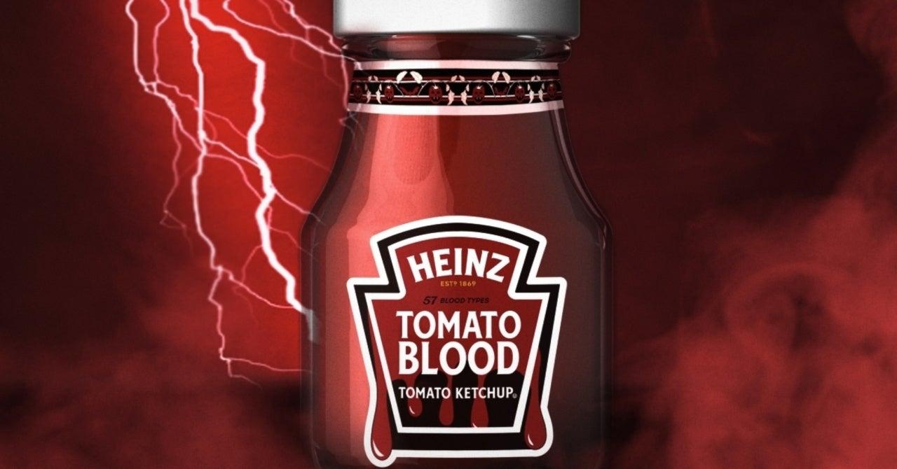 Heinz Celebrates Halloween By Giving Away Tomato Blood