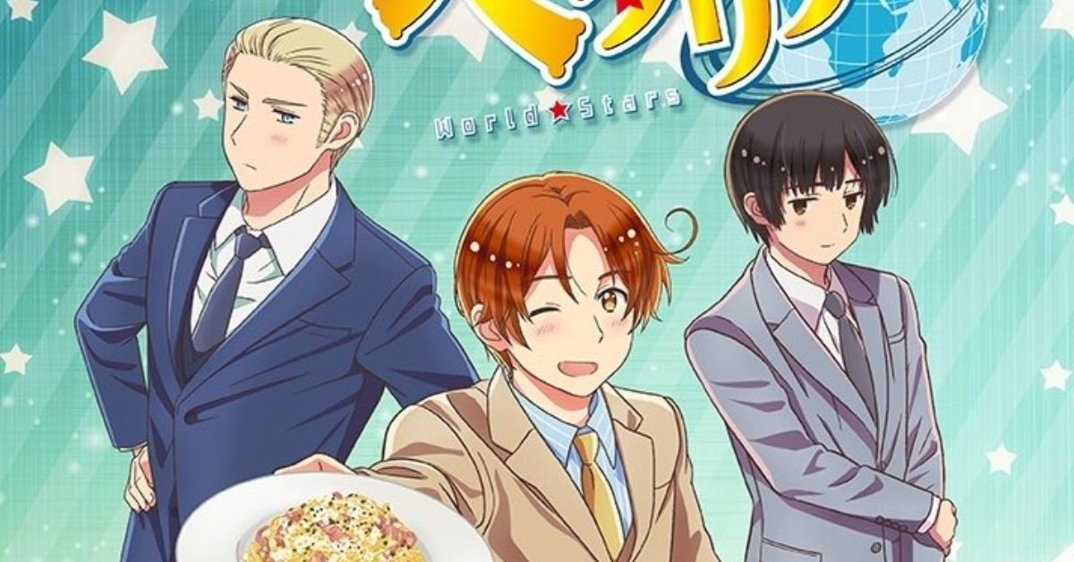 Hetalia World Stars Anime