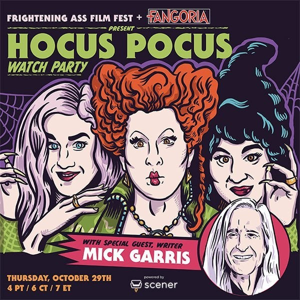 Hocus Pocus Watch Party scener