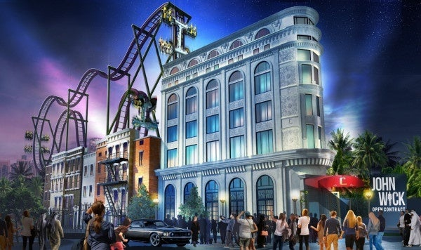 John Wick and Now You See Me Roller Coasters to Open Next Year, First Look Revealed