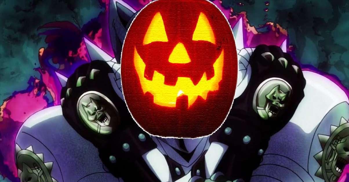 JoJo Killer Queen Pumpkin Halloween