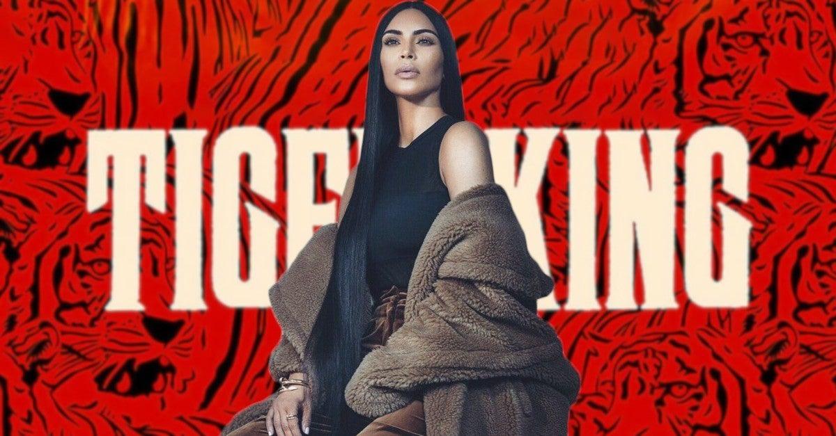 Kim Kardashian Tiger King Halloween Costume Carole Baskin