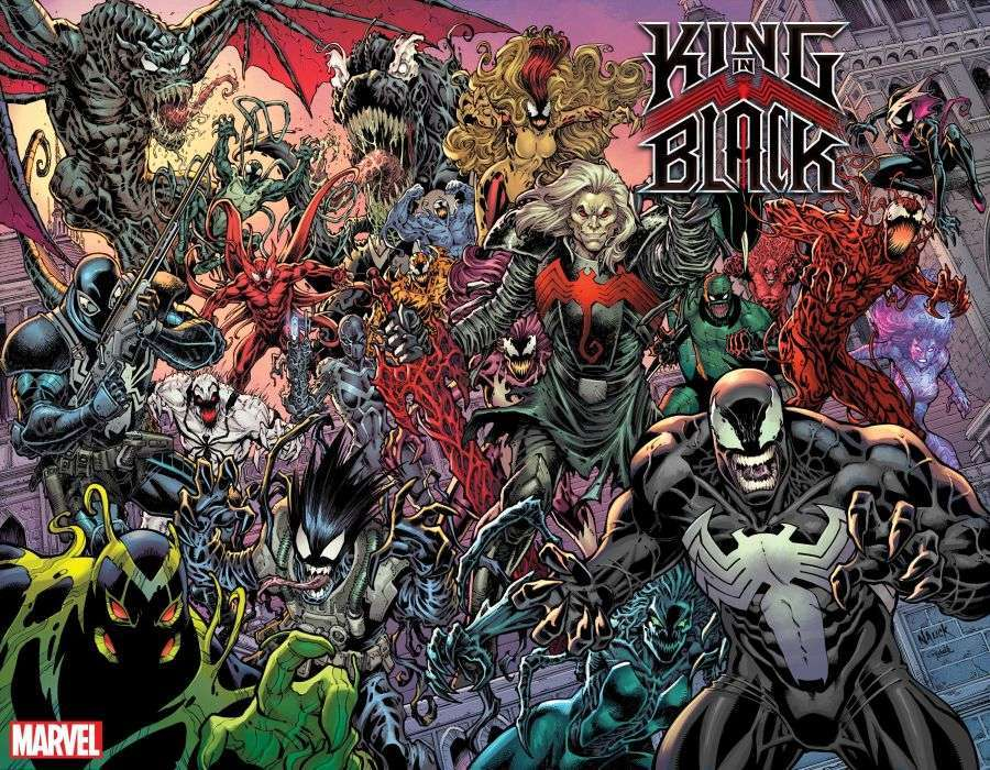 king in black every symbiote over