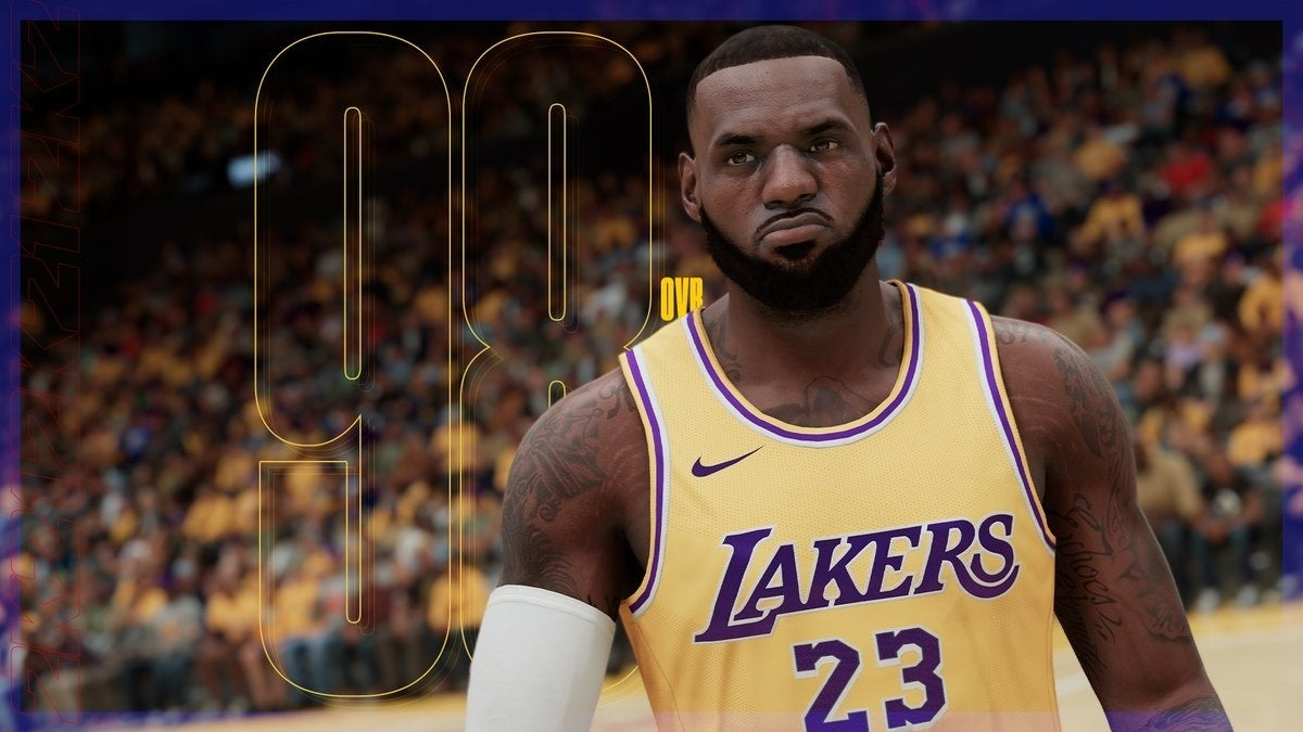 lebron james nba 2k21