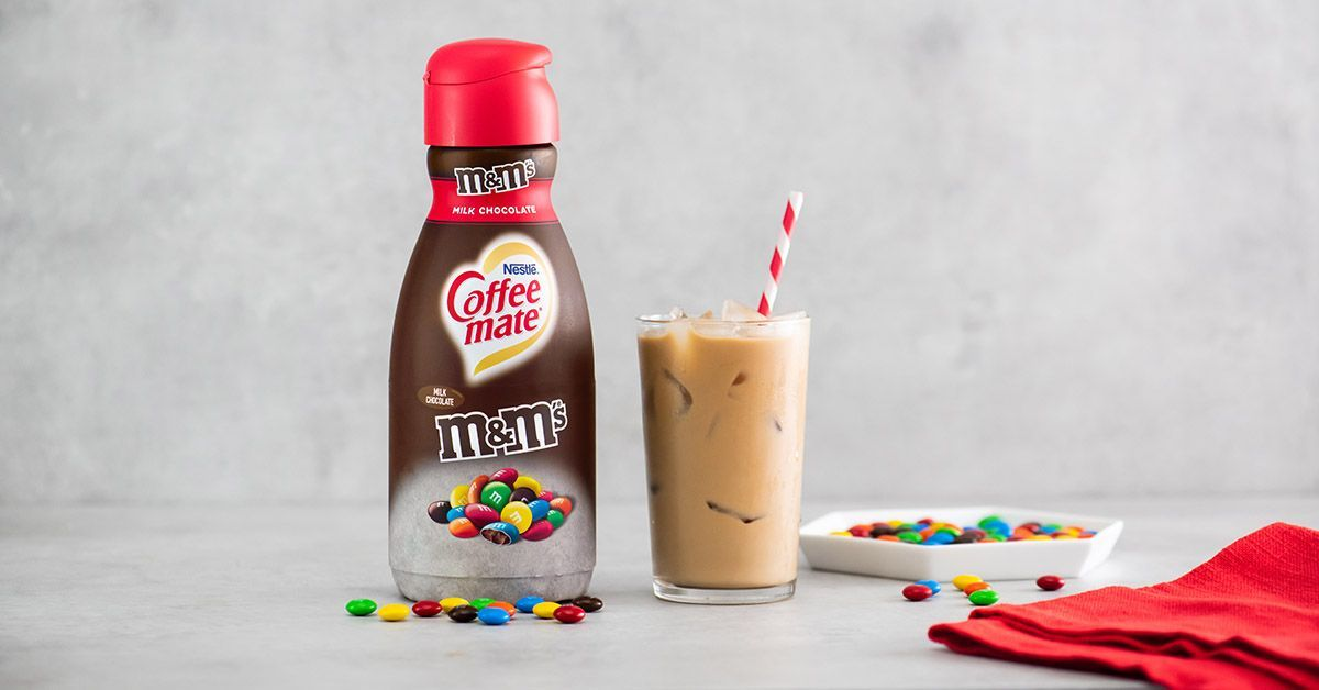 m and m coffee creamer