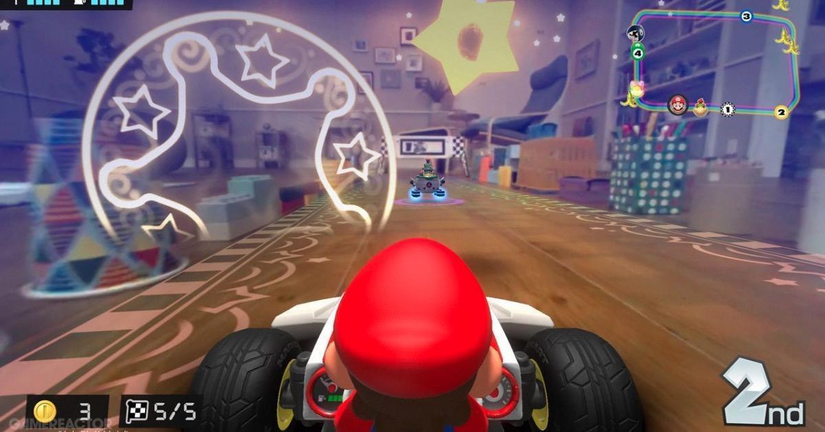 Mario Kart Live stars