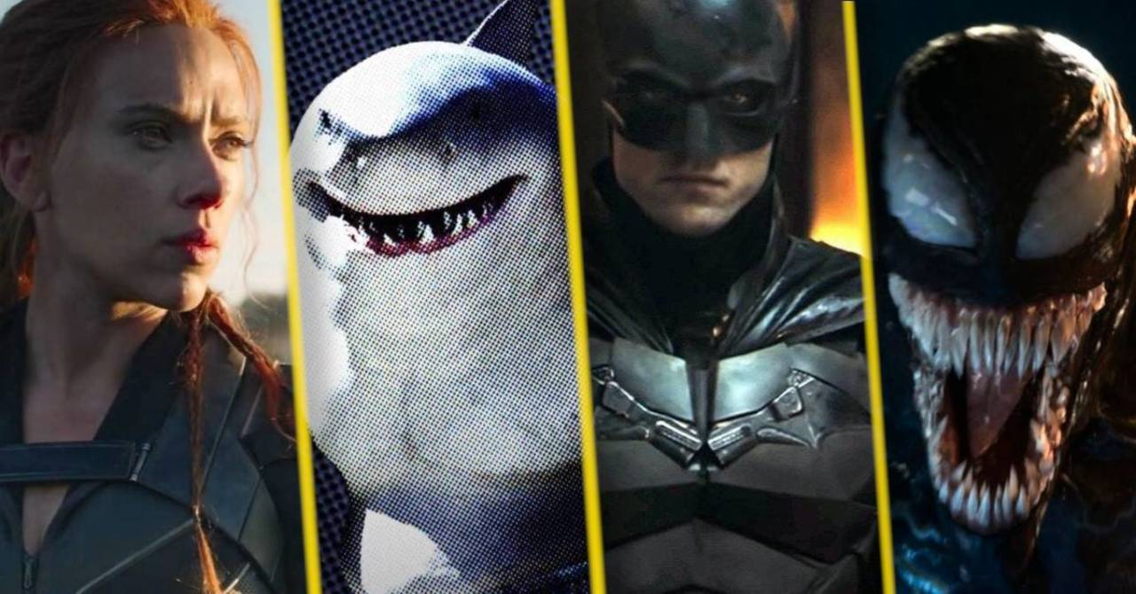 Huge Number Of Marvel And DC Superhero Movies Scheduled To ...