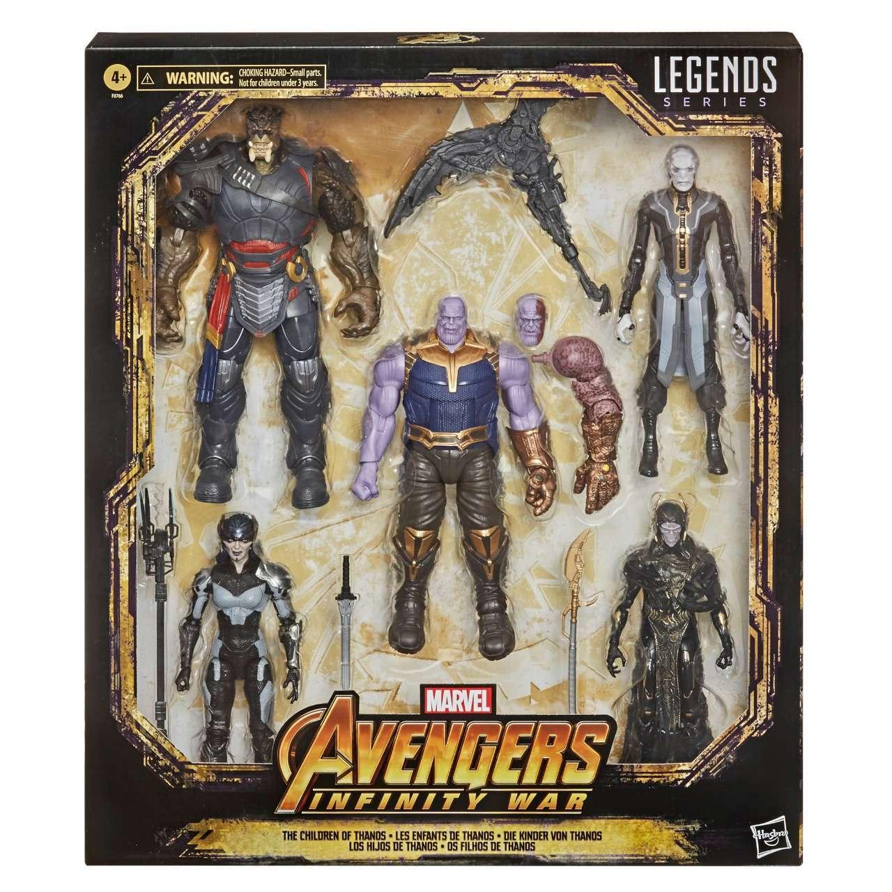 Marvel Legends Children Of Thanos 5 Pack Exclusive  Pre-Order December Confirmed