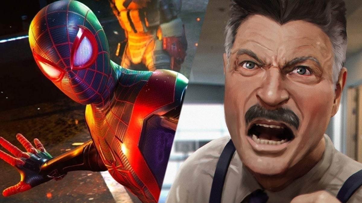 Marvel's Spider-Man Miles Morales J Jonah Jameson