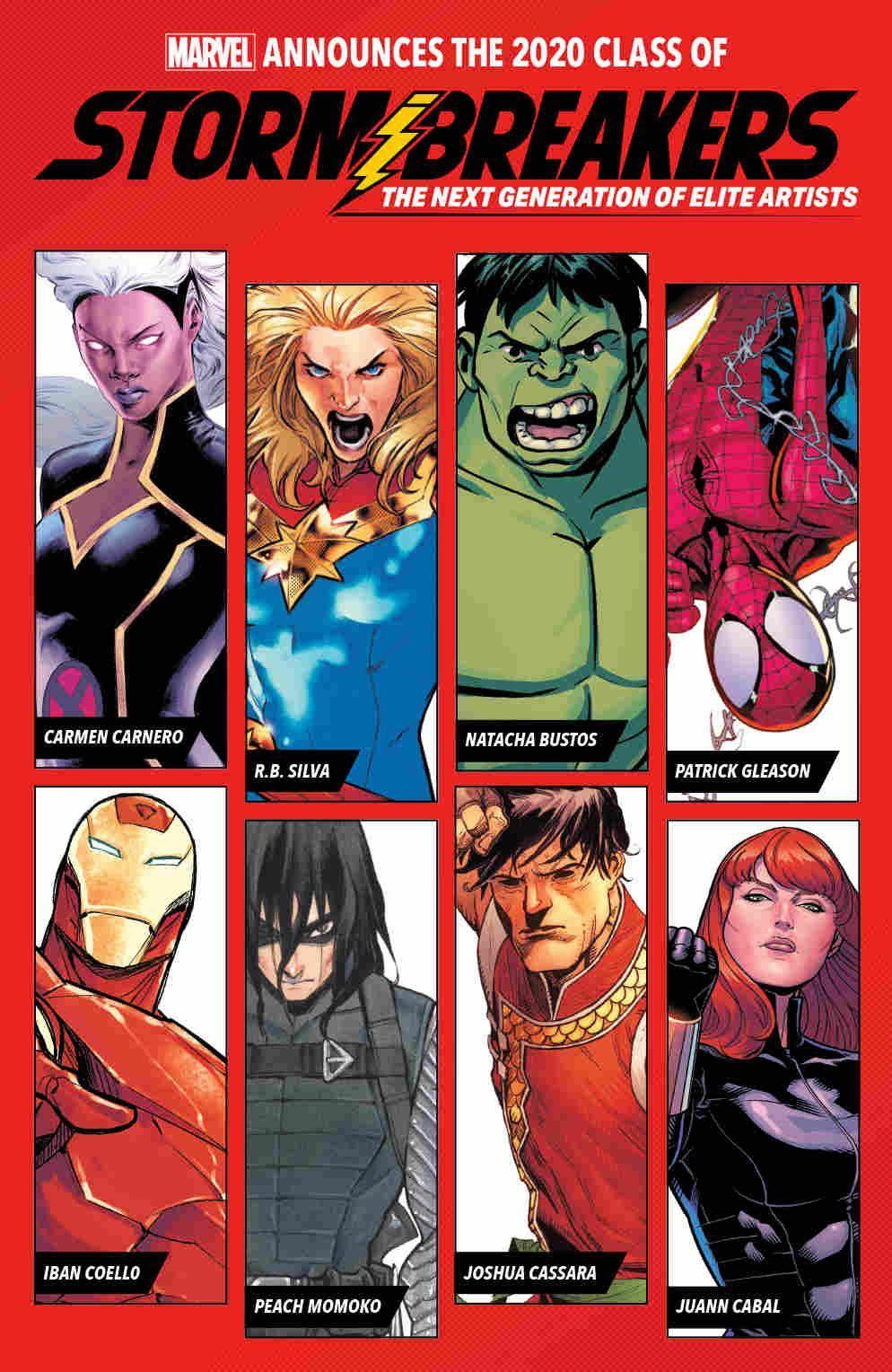 Marvel's Stormbreakers Announcement