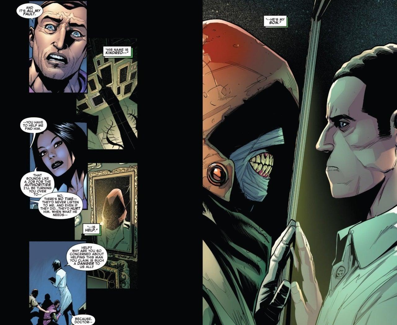 Marvel SpiderMan Kindred Harry Osborn Amazing 50 Spoiers
