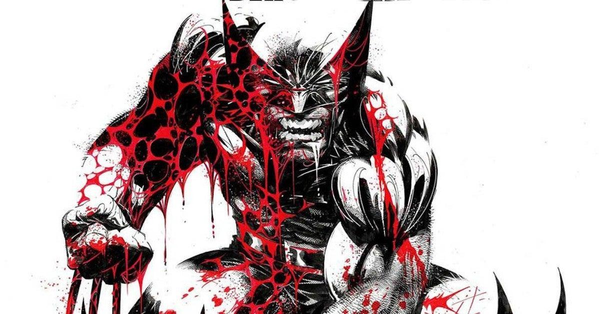 Marvel Wolverine Black White Blood 3 John Ridley