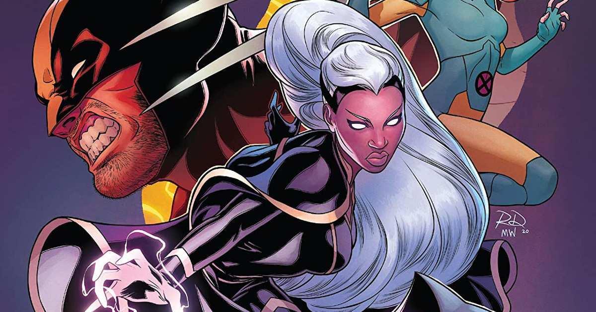 Marvel X-Men Storm New Costume Marauders