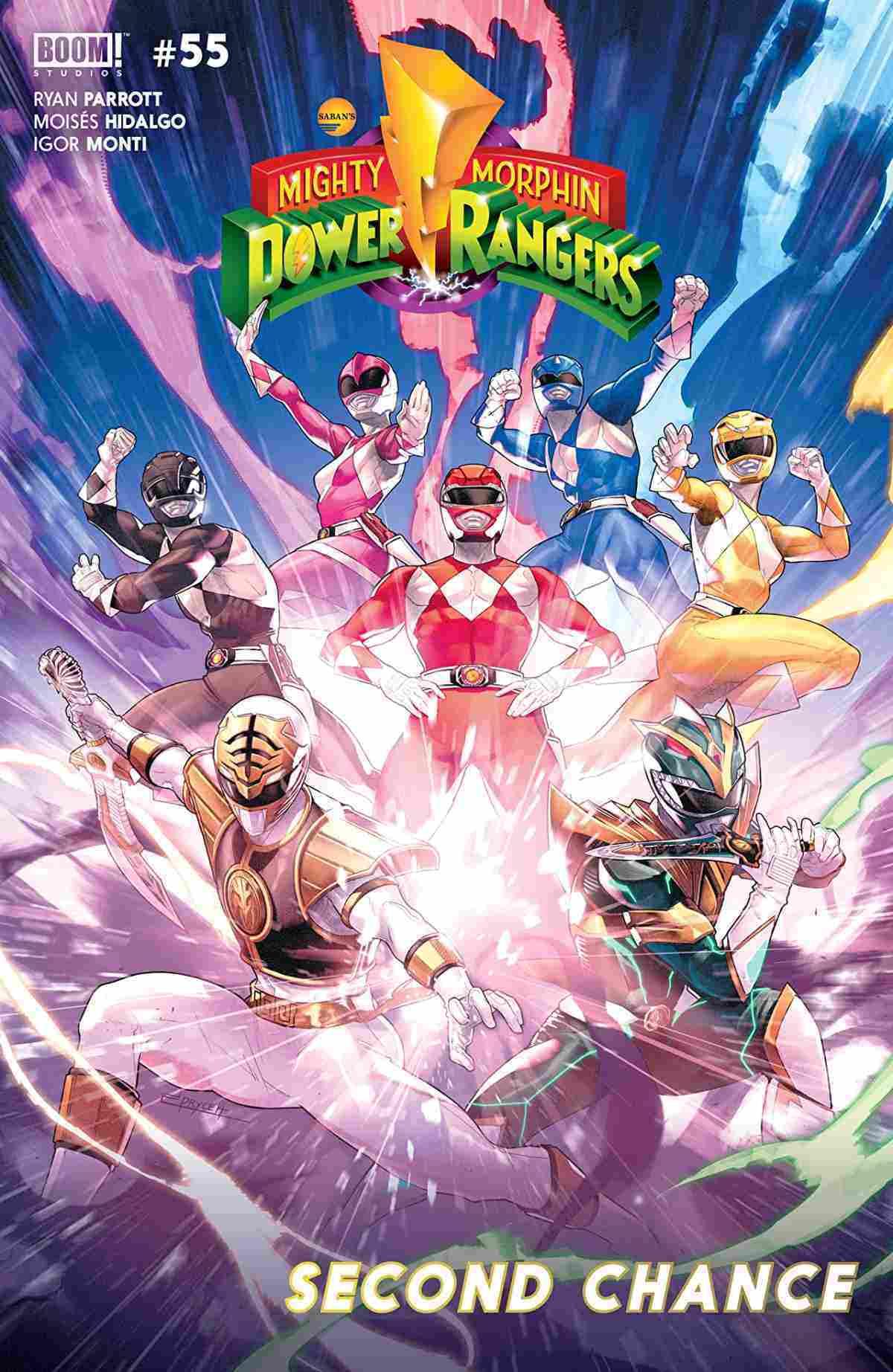 Mighty Morphin Power Rangers #55