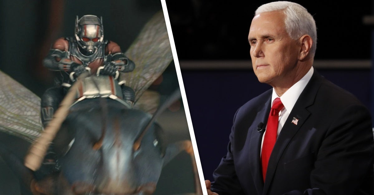 mike pence fly ant man