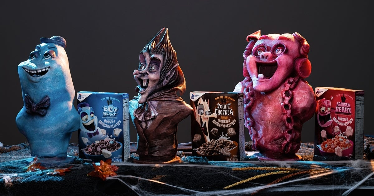 monster cereal busts