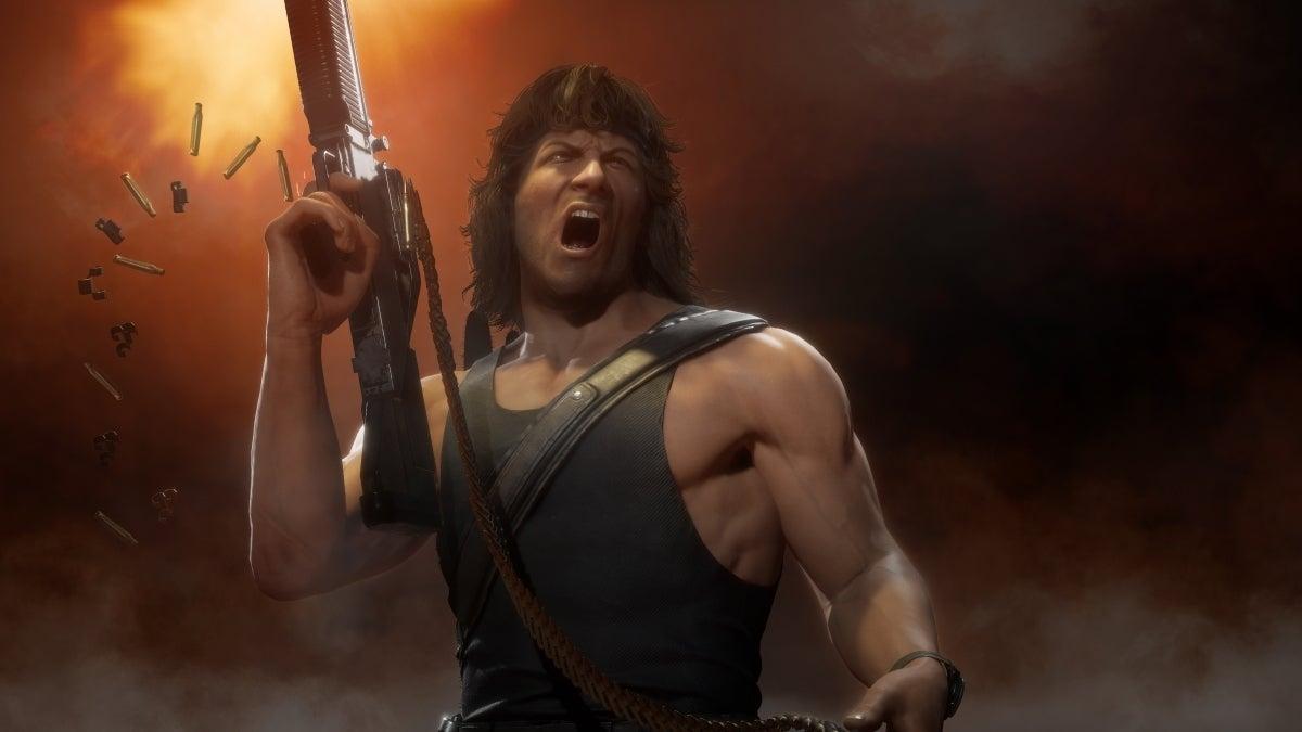 Mortal Kombat 11 Ultimate - Rambo new cropped hed
