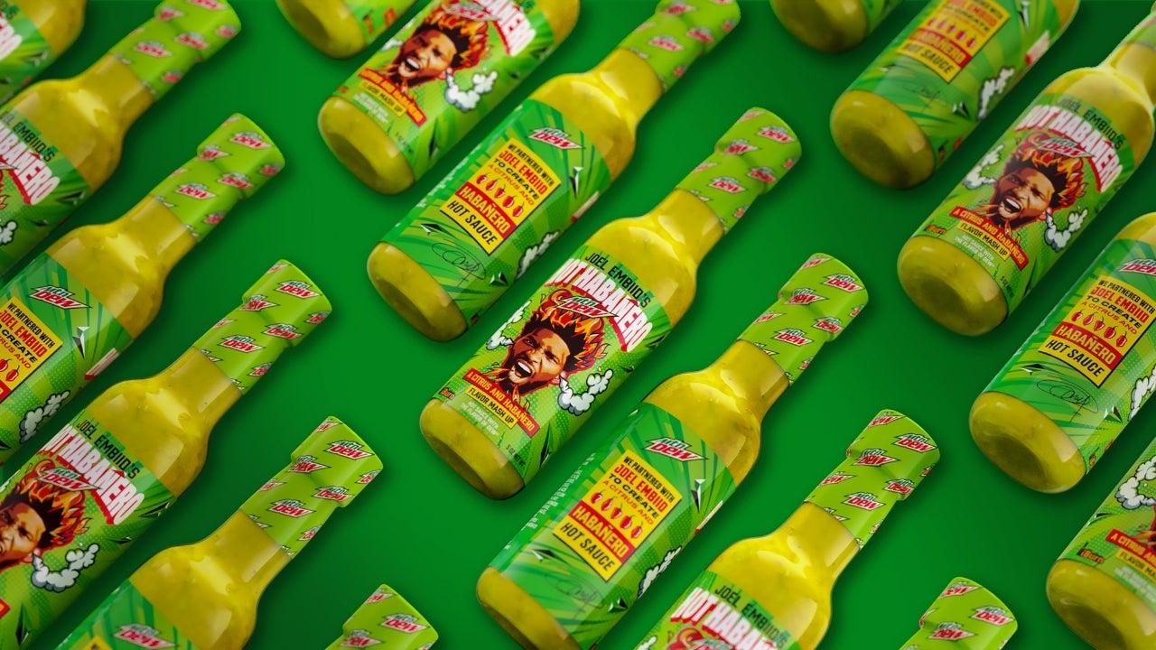 mt dew hot sauce joel embiid